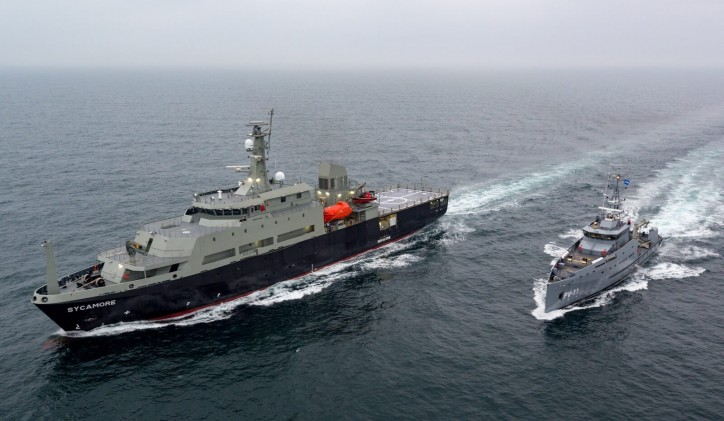 Damen successfully completed sea trials of Multi-role Aviation Training Vessel for the Royal Australian Navy (Video)