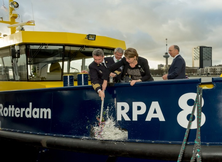 Port of Rotterdam Authority puts hybrid vessel into operation