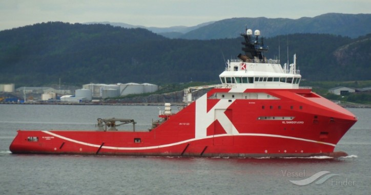 "KL Sandefjord - First Offshore Vessel with DNV GL's ""Shore Power"" Class Notation"