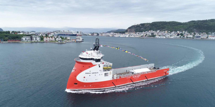 Twin Naming Ceremony of Golden Energy Offshore Vessels