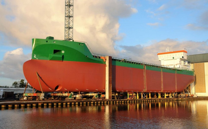 Snow Crystal for Erik Thun AB to be launched in October at Ferus Smit shipyard in Westerbroek, Netherlands