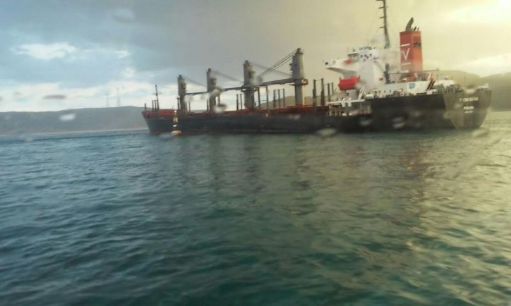 Heavily Grounded MV Benita Step Closer to Refloating