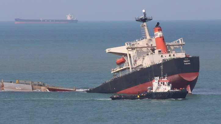 MV Smart Wreck Removed By Titan Salvage