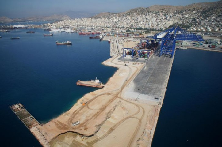 Pier III of COSCO Piraeus Container Terminal (PCT)