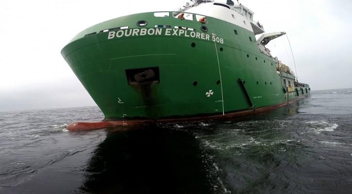 BOURBON EXPLORER 508 - IMO 9653953