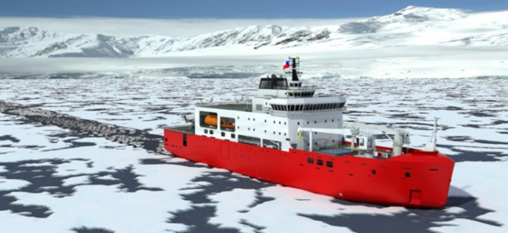 GE to Provide Full Propulsion System Solution to the Chilean Navy's Icebreaker