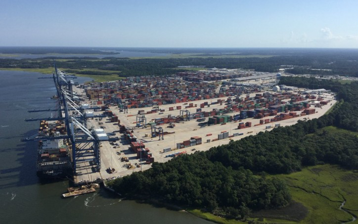 South Carolina Ports Authority Posts Record August Container Volume