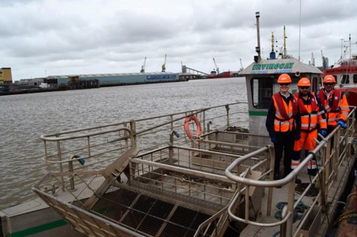 Making shampoo bottles from marine plastics around Hull and Goole Ports