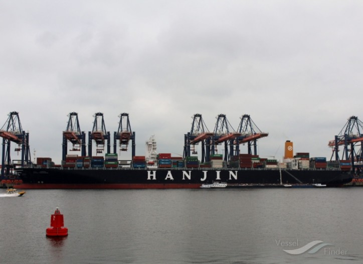 Hyundai Merchant Marine and Korea Line bid for Hanjin's Asia-U.S. route