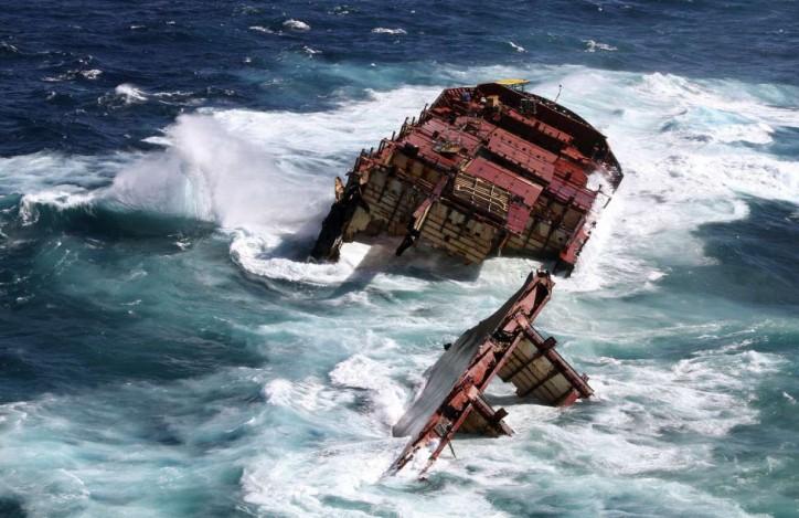 RENA shipwreck no longer a hazardous ship