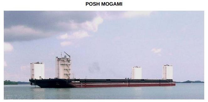 posh mogami barge