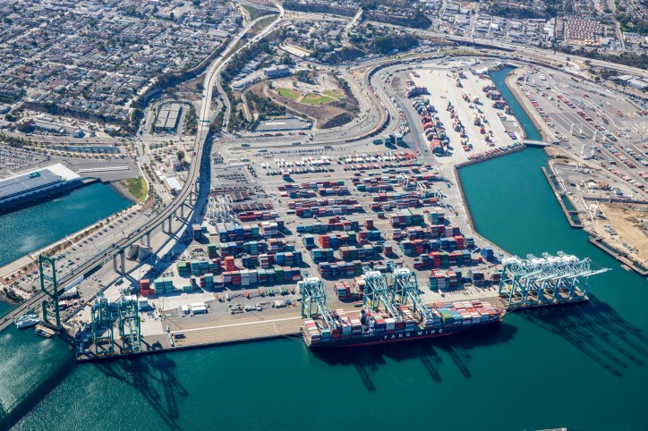 Port of Los Angeles Breaks All-Time Cargo Volume Record in 2017