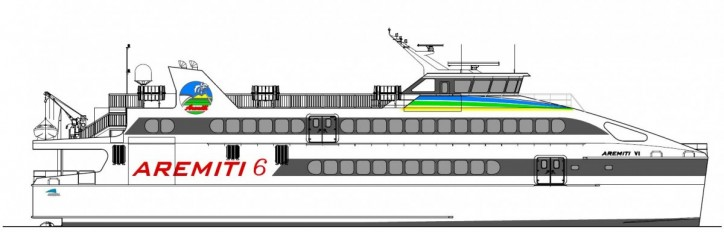 New passenger ferry contract from SNC Aremiti celebrates Austal's fifth vessel for French Polynesia