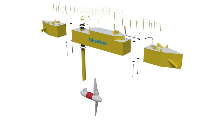 First BlueTEC Tidal Energy Platform In The World Becomes Operational