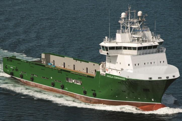 Havila Shipping ASA announces 1-year extension with Total E&P UK for PSV Havila Commander