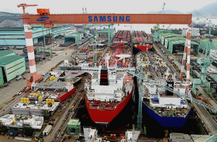 Samsung Heavy Industries wins KRW 240bn order to build four tankers