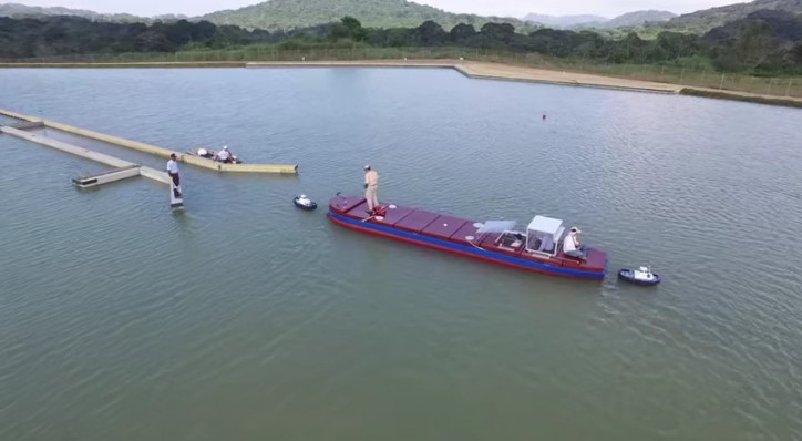 Panama Canal Scale Model Maneuvering Training Facility