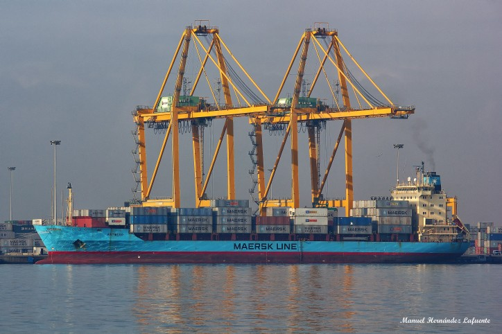 Maersk First As Containership Antwerp Launches Direct Call to Dublin Port
