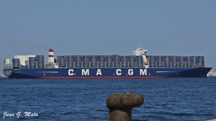 CMACGM GEORG FORSTER (IMO: 9702144)