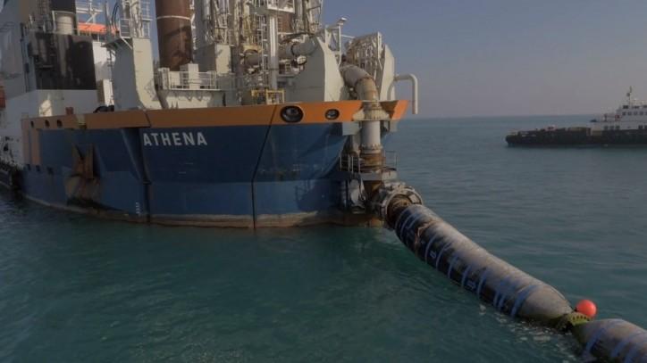 Van Oord: Impressive ground improvement project in Kuwait delivered (Video)
