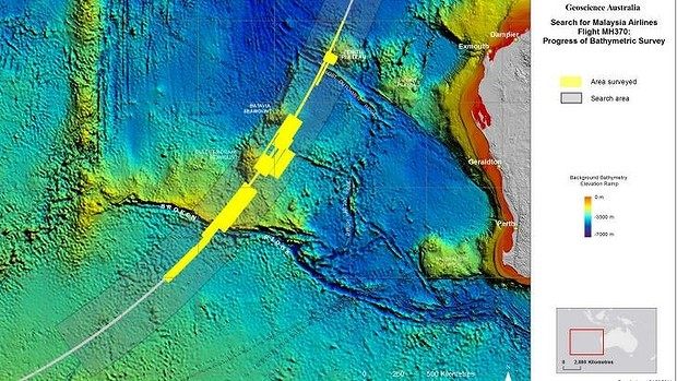Mh370 search are