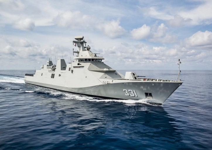 Damen Schelde Naval Shipbuilding delivers first SIGMA 10514 PKR frigate to Indonesian Ministry of Defence