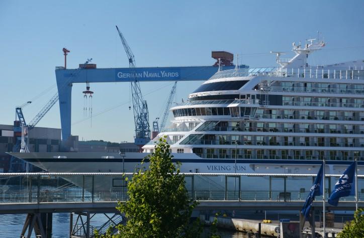 Viking Ocean Cruises premiere in the Port of Kiel