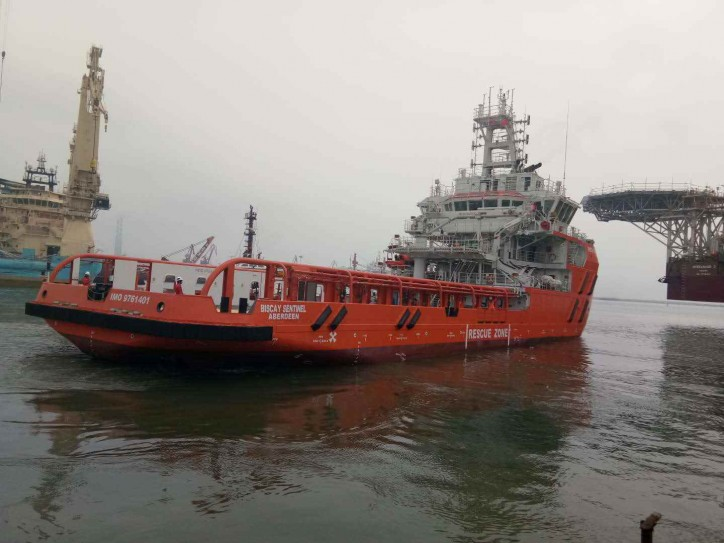 Sentinel Marine Welcomes Biscay Sentinel into Fleet