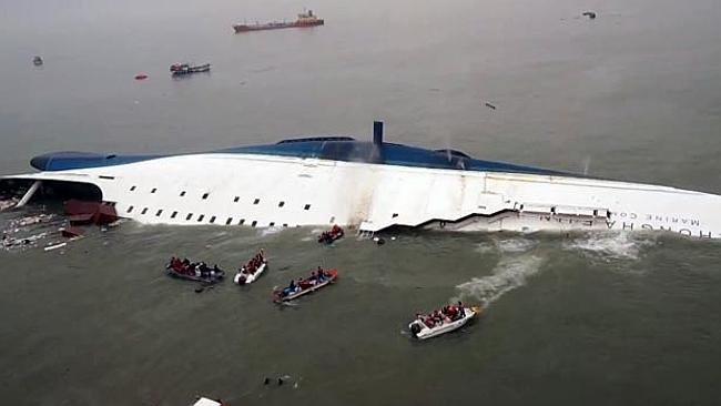 Sewol ferry ship accidents