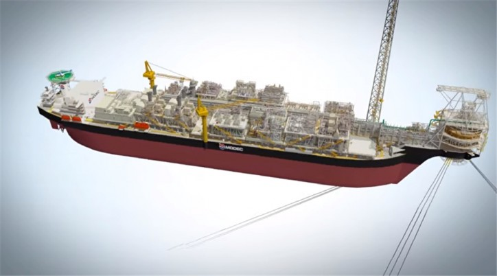 MODEC Awarded Contract of FPSO for SNE Field offshore Senegal