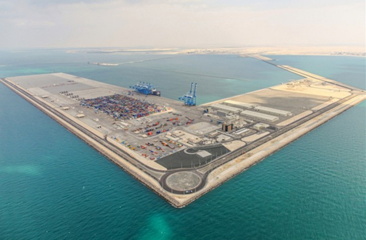 Abu Dhabi Ports' investments in new equipment improve efficiency of port operations