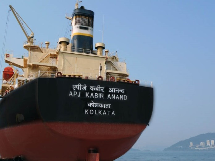 Panamax bulk carrier APJ Kabir Anand joins Apeejay Shipping fleet