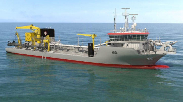 Jan De Nul Group orders new vessels with exhaust gas treatment systems