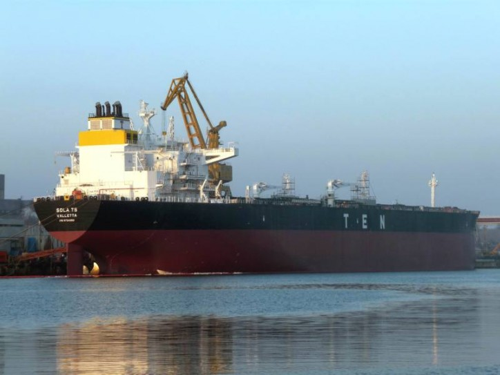 Tsakos Energy Navigation Announces Delivery and Charter Of Aframax Tanker Sola TS