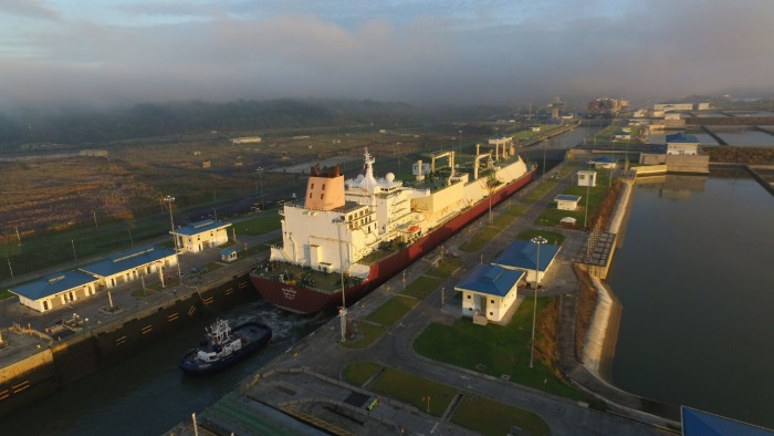 Panama Canal Welcomes First Q-Flex LNG Tanker