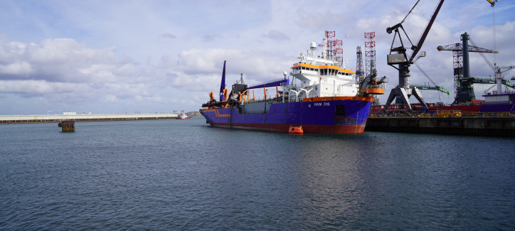 Van Oord and Shell together in biofuel pilot for vessels