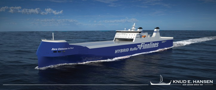 New Green RoRo Vessels for Finnlines – designed by KNUD E. HANSEN