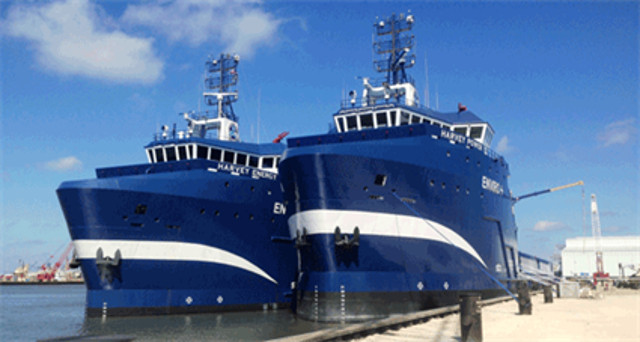 Wärtsilä powered Harvey Gulf OSVs awarded Workboats of the Year title