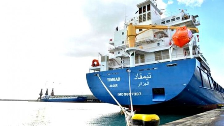 Algeria: National Shipping Company takes delivery of new cargo ship