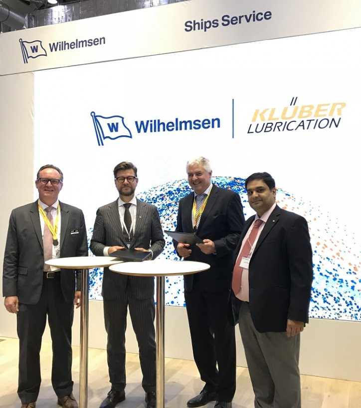 Wilhelmsen strengthens portfolio with unique Klüber Lubrication marine partnership