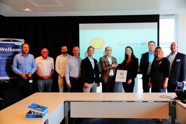 Van Oord and Shell Marine sign five-year partnership