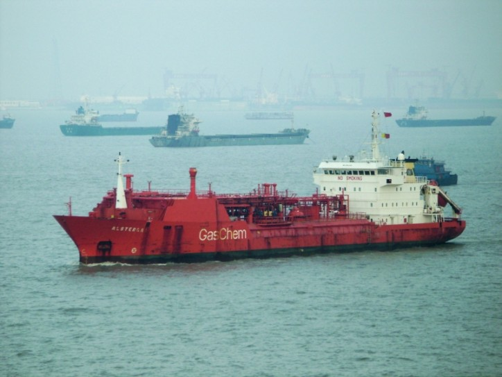 LPG tanker Teknogas issued distress signal and disappeared off Vietnam coast