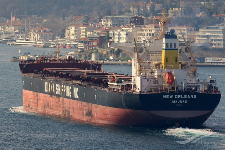 Diana Shipping Announces Time Charter Contracts for MV New Orleans with Koch and MV Melite with Uniper