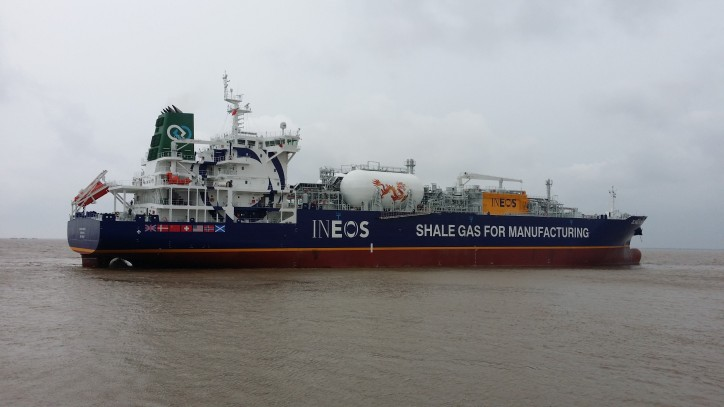 Evergas takes delivery of third Dragon-class multigas LNG carrier