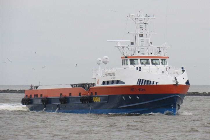 Seacor Fast Offshore Support Vessel Delivered
