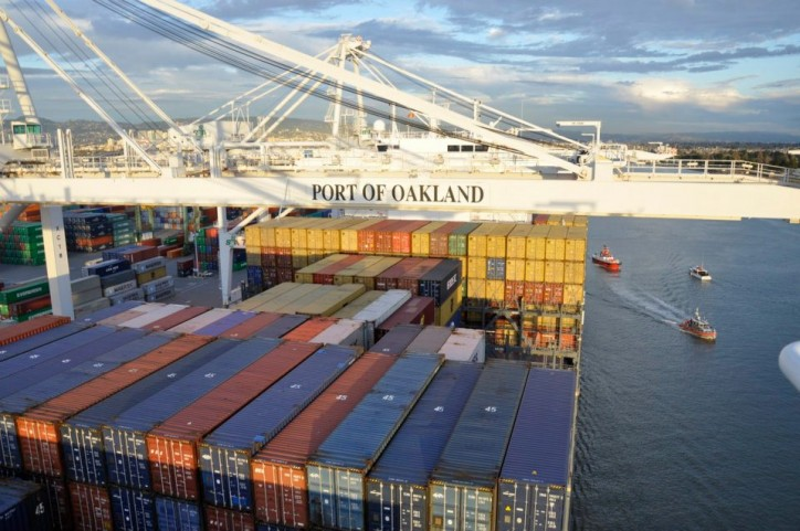 Port of Oakland imports up 9.2 percent from a year ago