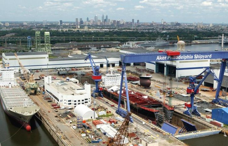 Philly Shipyard begins construction of modern containership fleet to support development of new cargo liner service for the Hawaii trade