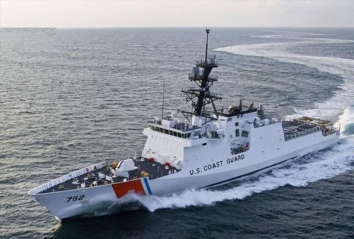 Coast Guard Stratton cutter