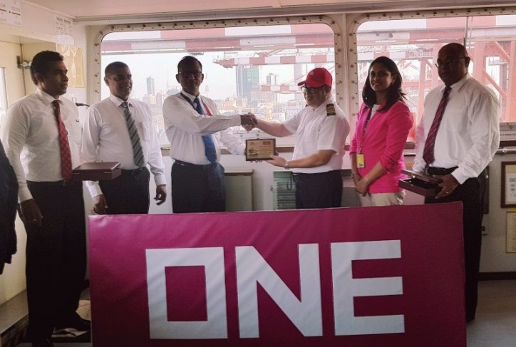 South Asia Gateway Terminal welcomes ONE service
