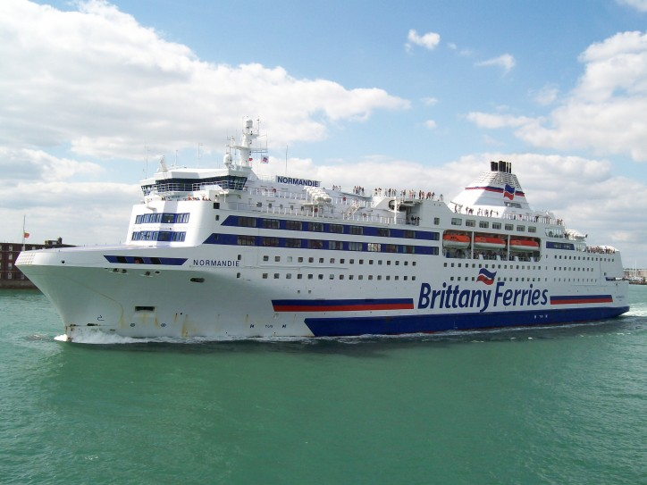 Four Crewmembers Injured After Electrical Fire on Board French Ferry Normandie